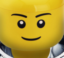 LEGO TIME - Astronaut Sticker