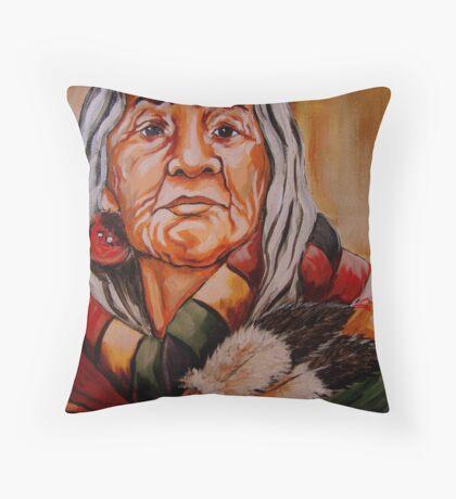 The Healer Detail #4 Throw Pillow