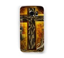 Jesus God Christianity Religion Crucifiction Nails and Cross Samsung Galaxy Case/Skin