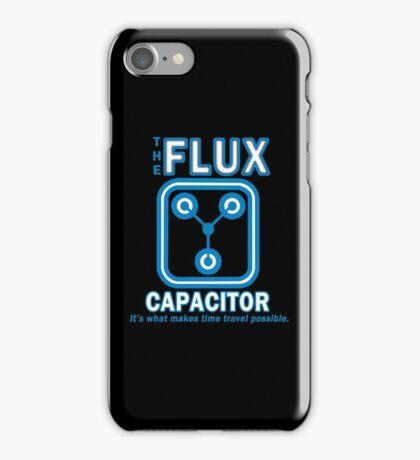 THE FLUX CAPACITOR Funny Geek Nerd iPhone Case/Skin