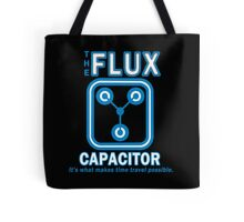 THE FLUX CAPACITOR Funny Geek Nerd Tote Bag