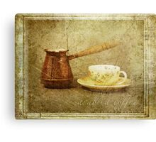 Arabica Coffee Canvas Print