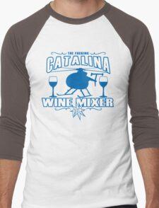 THE FUCKING CATALINA WINE MIXER POW Funny Geek Nerd Men's Baseball ¾ T-Shirt