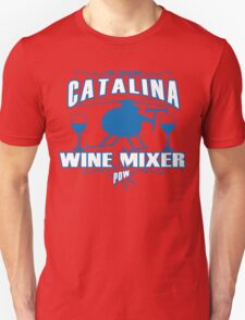 THE FUCKING CATALINA WINE MIXER POW Funny Geek Nerd Unisex T-Shirt