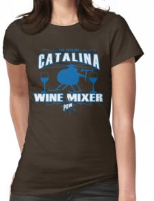 THE FUCKING CATALINA WINE MIXER POW Funny Geek Nerd Womens Fitted T-Shirt