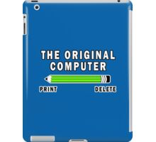 The Original Computer Funny Geek Nerd iPad Case/Skin