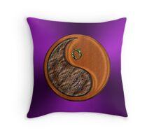 Taurus & Boar Yin Wood Throw Pillow