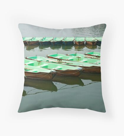 Waiting for... Throw Pillow