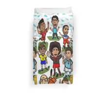 The World Cup Toons Duvet Cover
