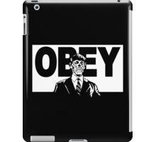 They Live Obey Rowdy Roddy Piper Cult Funny Geek Nerd iPad Case/Skin