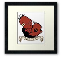 Ackbar the Sailor Man Framed Print