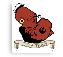 Ackbar the Sailor Man Canvas Print