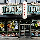 STORE FRONT: The Disappearing Face Of New York: BRAND'S Liquors by James and Karla Murray