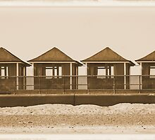 The Beach Huts by PixelChez
