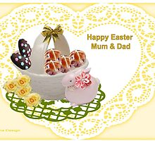 Easter Wishes Mum & Dad by aldona