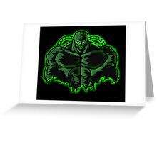Born in the Darkness Greeting Card