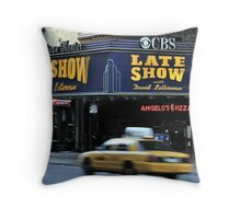 The Late Show Throw Pillow
