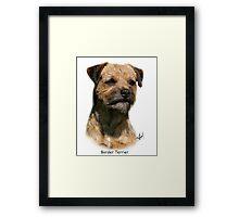 Border Terrier Framed Print
