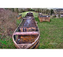 Rusty the Barge~ Photographic Print