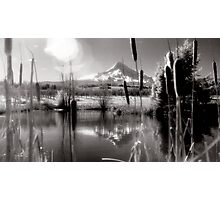 Mt Hood Infrared Panoramic Photographic Print