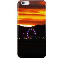 The Elusive Ferris Wheel Sunset iPhone Case/Skin