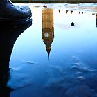 mandela's shoe and big ben by photogenic