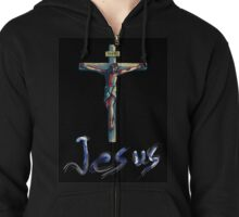 Jesus Christianity Religion Crucifiction Zipped Hoodie