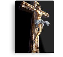 Jesus Christianity Religion Crucifiction Metal Print