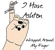 Ashton's Wrapped Around My Finger Photographic Print