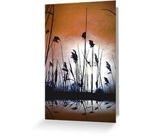 Tall wild grass.... Greeting Card