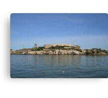 San Francisco: Alcatraz Island Canvas Print