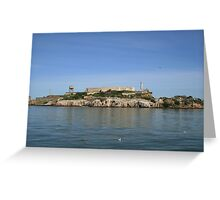 San Francisco: Alcatraz Island Greeting Card
