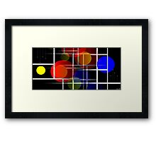 Monotectic System Framed Print