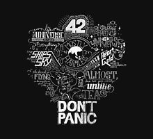 Don't Panic - Mostly Harmless  Unisex T-Shirt