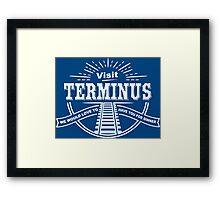 Visit Terminus Funny Geek Nerd Framed Print