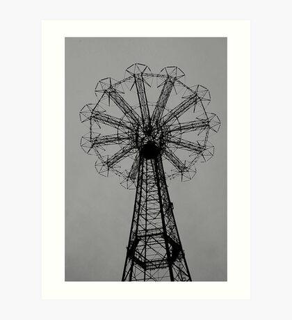 Coney Island No.1 Art Print