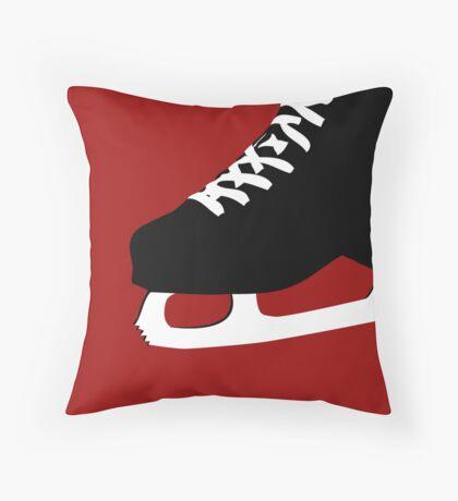 ice skate Throw Pillow