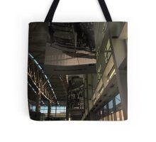 paper people. san francisco airport Tote Bag