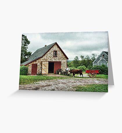 Ross Farm, Nova Scotia Greeting Card