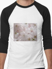 Blooming Cherry Tree Men's Baseball ¾ T-Shirt