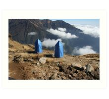 The Highest Toilet.... Art Print