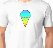 rainbow ice cream Unisex T-Shirt