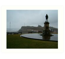 Captain James Cook, at Whitby Art Print