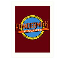 Powdermilk Biscuits Art Print