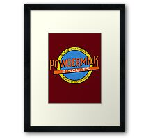 Powdermilk Biscuits Framed Print