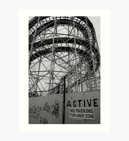 Coney Island No.8 Art Print