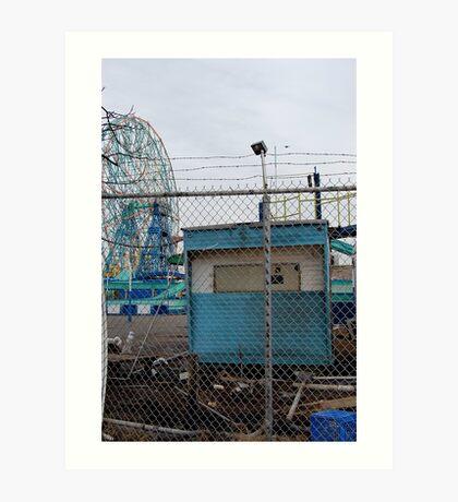 Coney Island No.9 Art Print