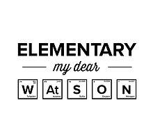 Elementary my dear Watson by ernieandbert