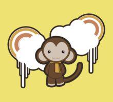 Cloud Monkey Baby Tee