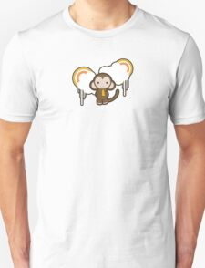 Cloud Monkey Unisex T-Shirt